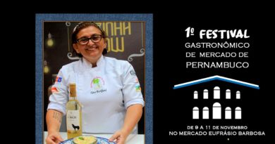 Confira os Chefs participantes do 1º Festival Gastronômico de Pernambuco